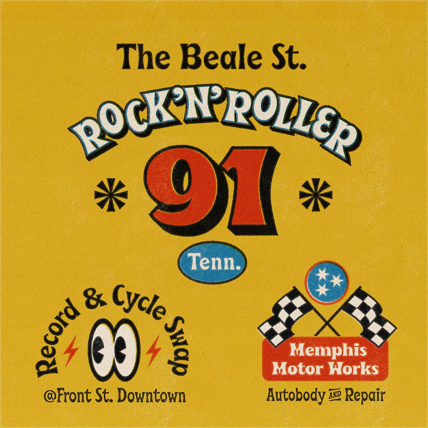 Beale Rock N Roller Rally Car Designs