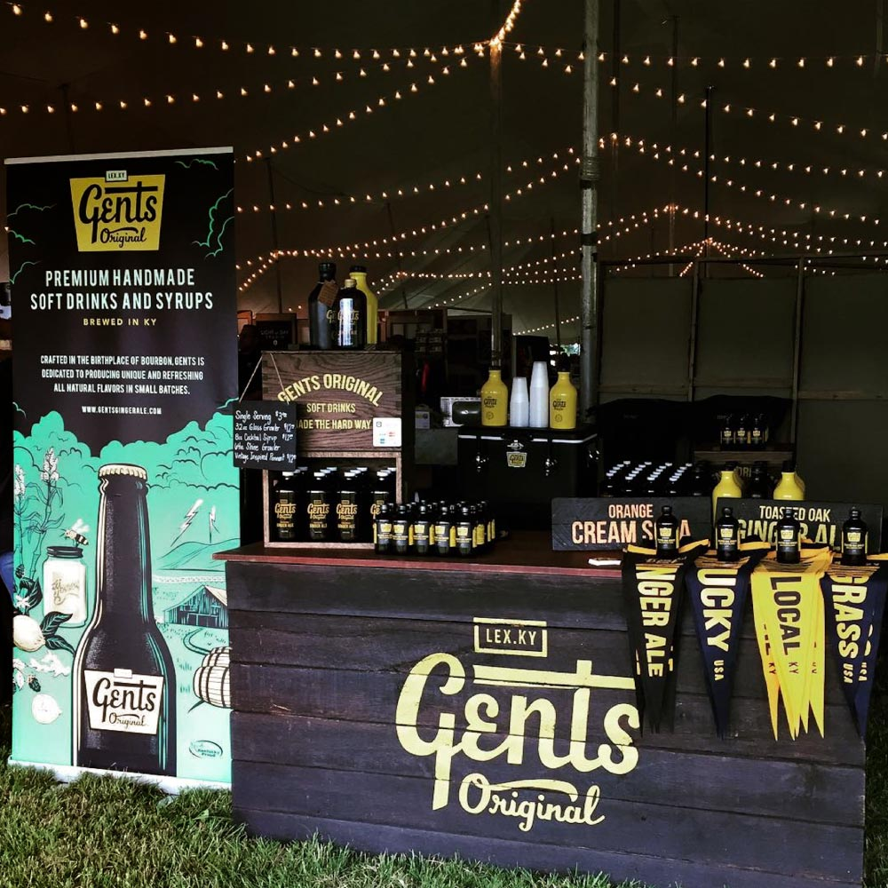 Gents Ginger Ale Booth