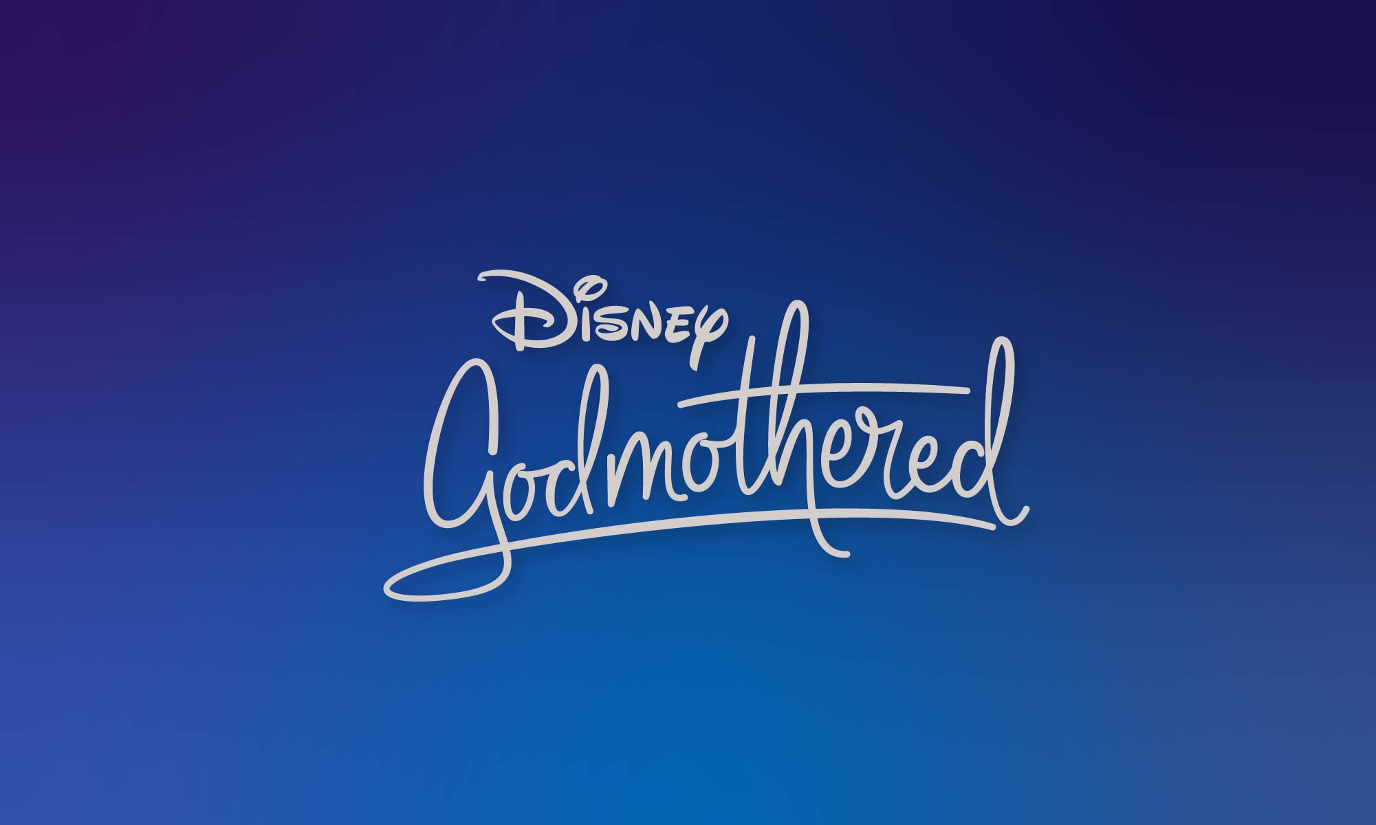 Godmothered Disney Title Treatment by Hoodzpah featuring a midcentury modern script