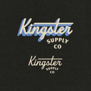 Kingster Supply Co by The Schubert Studio with Beverly Drive rounded by Hoodzpah